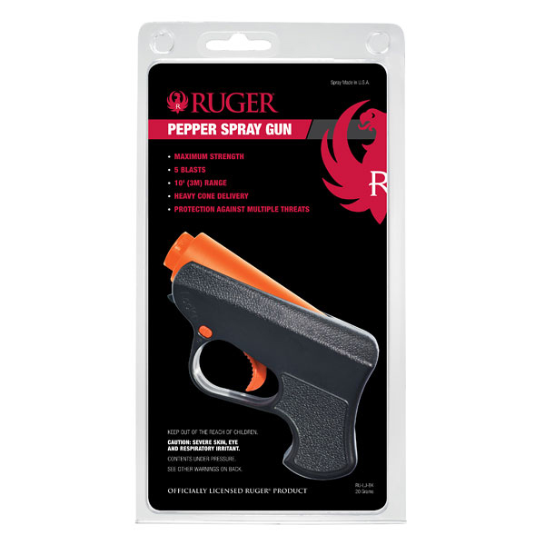 ruger pepper spray instructions